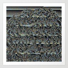 Intestinal Pixel Art Print