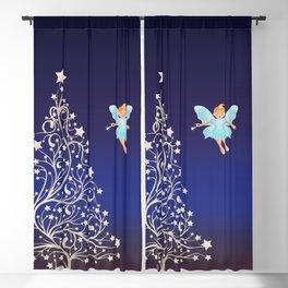 Sugarplum Fairy on Christmas Eve. Blackout Curtain