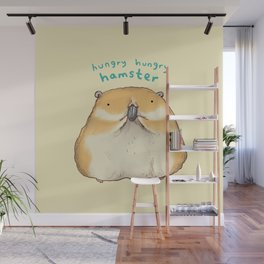 Hungry Hungry Hamster Wall Mural