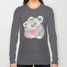 Koalas love hugs Long Sleeve T-shirt