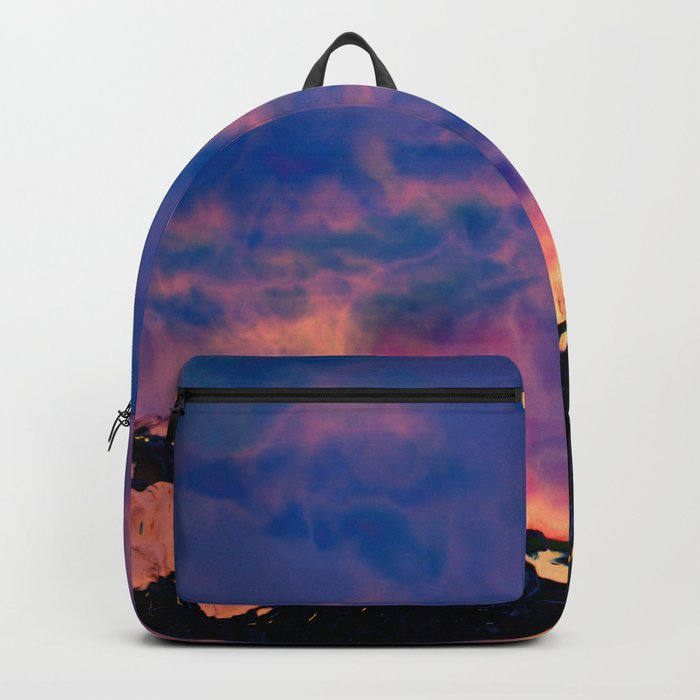The World On Fire Backpack