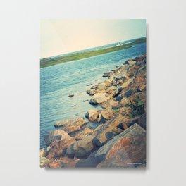 Wildwood Coast Metal Print