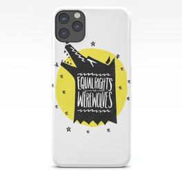 WEREWOLF RIGHTS iPhone Case