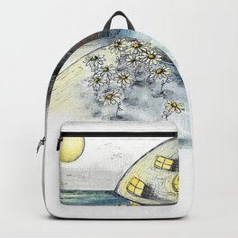 Mouse House in the Moonlight Backpack