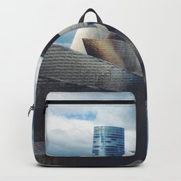 The Guggenheim Museum Bilboa (Frank Gehry Architecture) Backpack