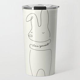 Love Yourself - Bunny Travel Mug