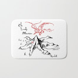 Smaug and The Lonely Mountain Bath Mat