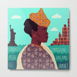 The New World, Immigration Metal Print