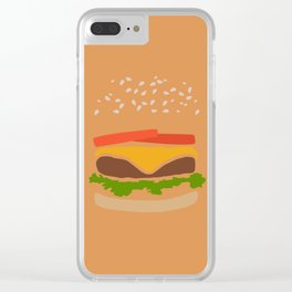 Simply Sesame Clear iPhone Case