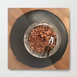 Christmas Nuts! No. 1 Metal Print