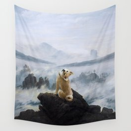 The Wanderer Above the Sea of Doge Wall Tapestry