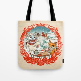 Golly Jolly Holly Tote Bag