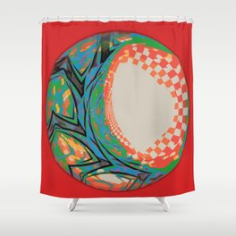 We Fucked Earth Shower Curtain