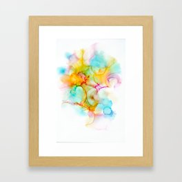 Cotton Candy And Puffalumps Framed Art Print