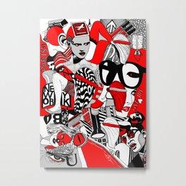 Milano_Paris_New York Metal Print
