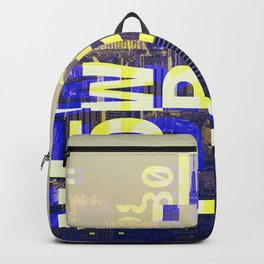 GLITCH CITY #00 NEW YORK Backpack
