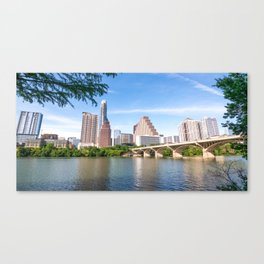 Bright Day in Austin Canvas Print