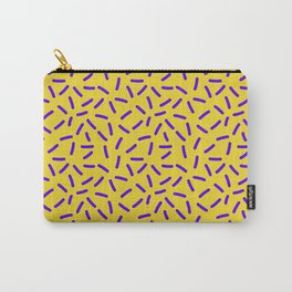 Shiny Yellow Memphis Carry-All Pouch