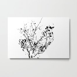 Got white bush? Metal Print