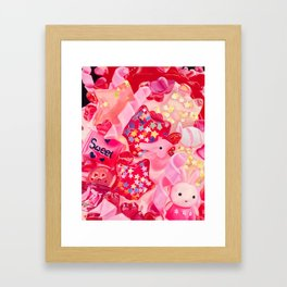 Pink, Plastic & Proud Framed Art Print
