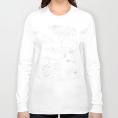 land of 15 towns and a cemetary Long Sleeve T-shirt