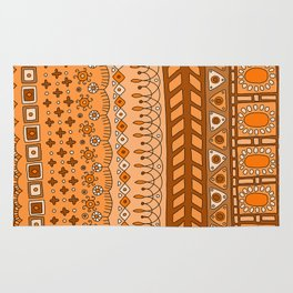 Yzor pattern 008 warm Rug
