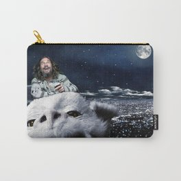 The Dude Rides Falcor Carry-All Pouch