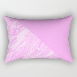 Pink camouflage pattern Rectangular Pillow