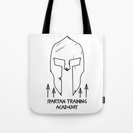 Spartan Workout Training Academy Tote Bag