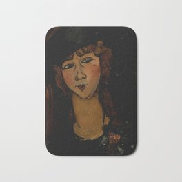 "Amedeo Modigliani ""Lolotte"" Bath Mat"