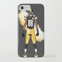 steelers iPhone & iPod Cases featuring Steel Curtain - Emmanuel Sanders by IllSports
