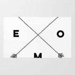 Modern Home Arrow Print Rug