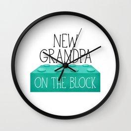 New Grandpa On The Block Wall Clock