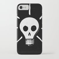 bad idea iPhone & iPod Cases featuring Bad Idea by ScottLaserowPosters