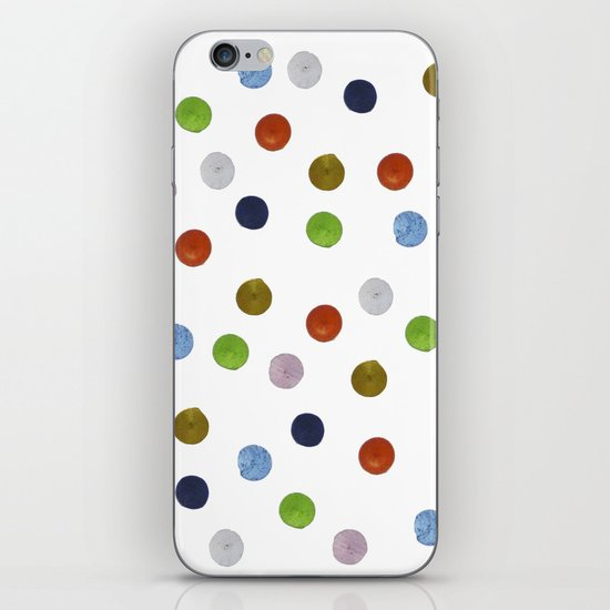 Pinpoint Dots iPhone Skin