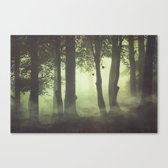 Wispy Forest Mists Canvas Print