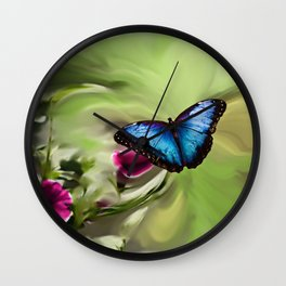 The Butterfly Effect Wall Clock