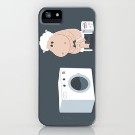 Wool wash iPhone Case