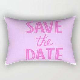 Save The Date Rectangular Pillow