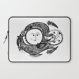 The Sun and Her Sunshine Laptop Sleeve
