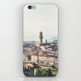Florence, Italy Panorama iPhone Skin