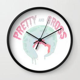 Pretty Gross Wall Clock