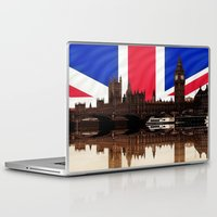politics Laptop & iPad Skins featuring British politics by Shalisa Photography