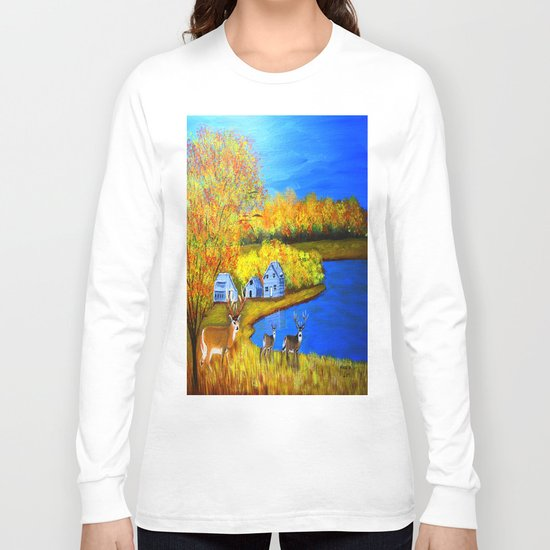 Visiting the farm  Long Sleeve T-shirt