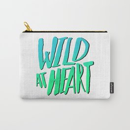 Wild at Heart x Blue + Green Carry-All Pouch