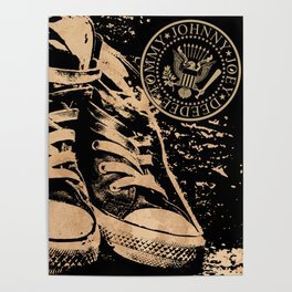 Ramones Shoes Poster