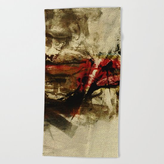 The Human Race Beach Towel
