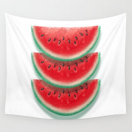 Slices of watermelon Wall Tapestry