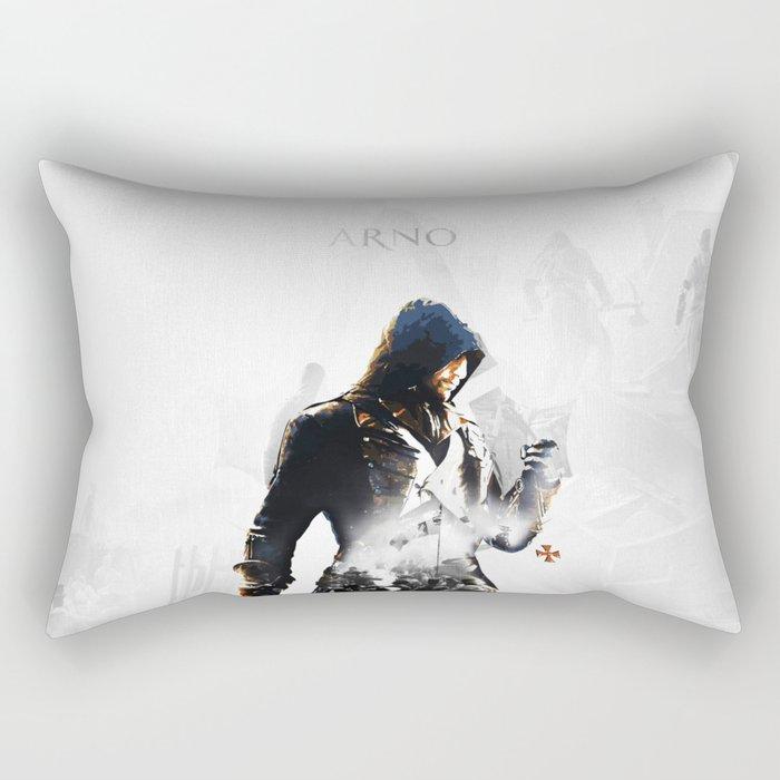 Arno Dorian, Double exposure Rectangular Pillow