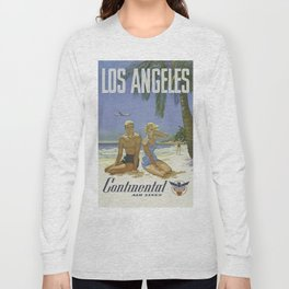 Vintage poster - Los Angeles Long Sleeve T-shirt